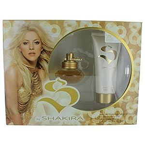 S By Shakira 2 Piece Perfume Gift Set for Women - 1.7oz EDT & 3.4oz Body Lotion