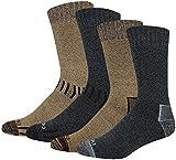 Dickies Men's Season Marled Moisture Control Crew Socks Multipack