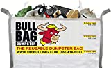 The BullBag Portable Foldable Reusable Construction Dumpster and Trash Bag