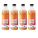 #3: BetterBody Foods Coconut Vinegar, 16.9 Ounce (4 pack)
