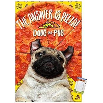 Beautiful Child /& Pug Dog #1 Victorian Trade Card Poster Print Advertisement