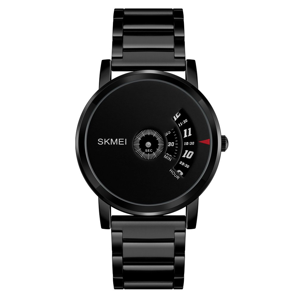 eYotto Students Teens Wristwatch Minimalist Creative Ultra Thin Watch Waterproof Quartz Stainless Steel Watch