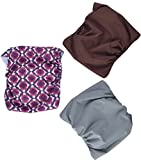 Belly Bands for Male Dogs Washable Doggie Diapers Dog Wraps Medium by BINGPET