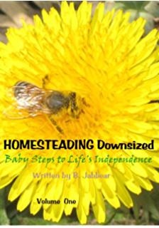 HOMESTEADING Downsized: Baby Steps to Life's Independence Volume One: Baby Steps 1- 20