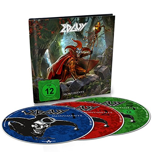 CD : Edguy - Monuments (With DVD, United Kingdom - Import, Pal Region 2, 2 Disc)