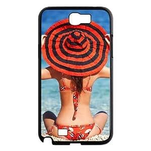 ALICASE Diy Design Back Case Bikini for Samsung Galaxy Note 2 N7100 [Pattern-1]