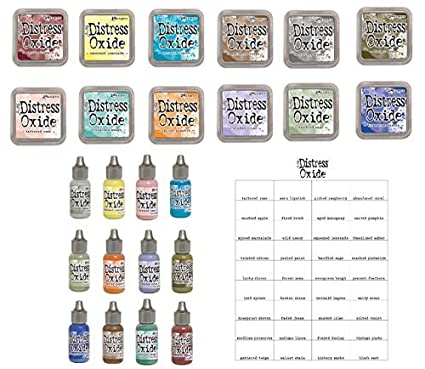 Amazon Tim Holtz And Ranger 2018 Release Distress Oxide Inks