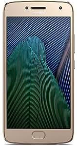 Moto G Plus Smartphone (5ª generación), Versión estándar (sin ofertas ni anuncios), 64 GB Storage + 4 GB RAM, Oro fino