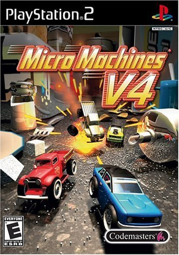 Micro Machines V4 - PlayStation 2 by Codemasters