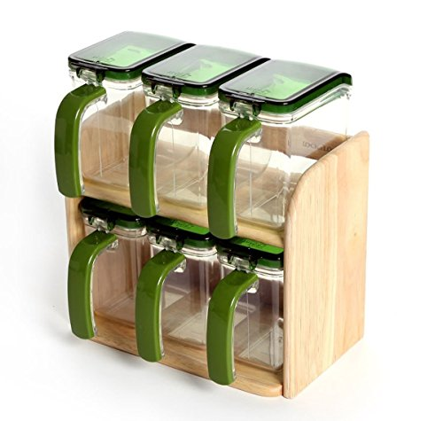 Lock & and Lock Seasoning Condiment Spice Food Storage Co...