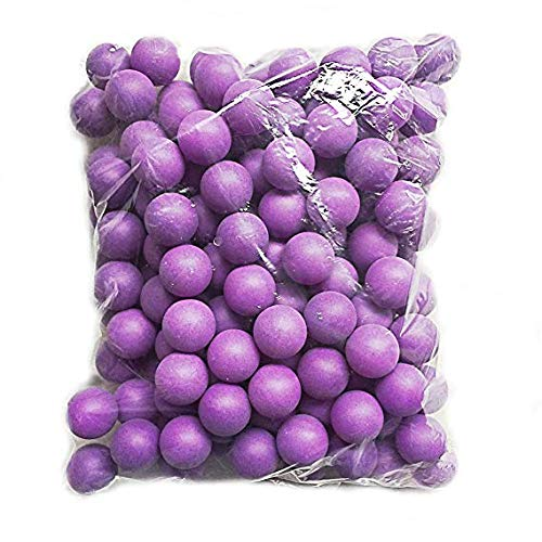 Table Tennis Ping Pong Ball Lottery Game Toys Pet Beer Balls 150Pcs Frosted Seamless Purple by Lakikey