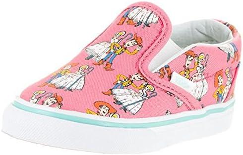 f259f4ba0a22 Vans Infant Toddler Slip On Woody BO Beep Pink Shoes Disney Pixar Toy Story