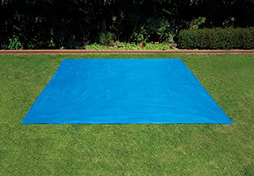 SUMMER WAVES 9' x 18' Ground Cloth for Rectangular Above Ground Pools -  Polygroup