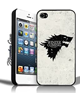 BESTER Game of Thrones Winter is Coming Stark iPhone 4s Case By MC
