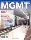 img - for MGMT4 by Williams, Chuck [Cengage Learning,2011] [Paperback] 4TH EDITION book / textbook / text book