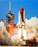 NASA Space Shuttle Blastoff Challenger Art Print Poster (16x20)