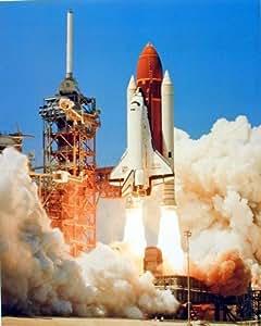 Amazon.com: NASA Space Shuttle Blastoff Challenger Art ...