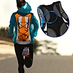 Hydration Pack with 1.5 L Water Backpack Bladder. Adjustable Straps Fits Men, Women or Kids. Ideal for Running, Cycling, Bike/hiking, Climbing or Hunting. Lightweight (70 Oz) and Waterproof Means You'll Never Run Out of Water When You Need It Most.
