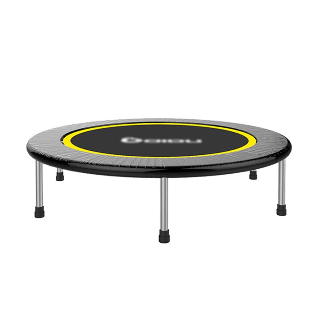 Tragbares 48-Zoll-Trampolin, Indoor-Fitnessgeräte für Fitness, Sicherheit und dauerhafte Maximallast von 440 kg