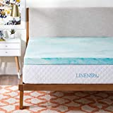 Best Inexpensive Mattress Topper Linenspa 3 Inch Gel Swirl Memory Foam Topper - Twin XL