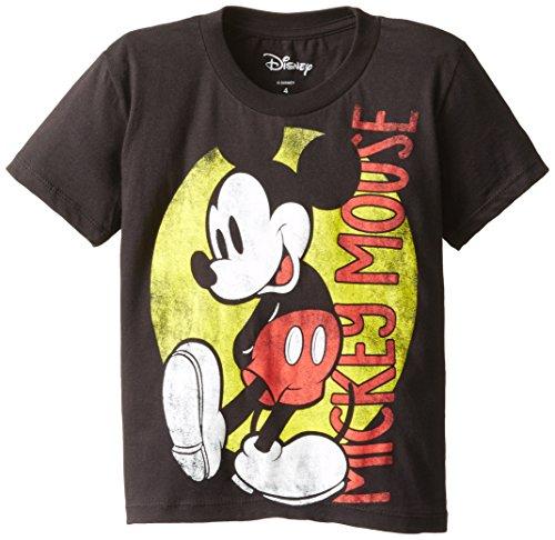 Disney Little Boys' Retro Mouse Juvy, Black, - Retro The Kid