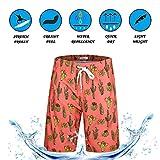 APTRO Board Shorts Mens Swimwear Beach Shorts