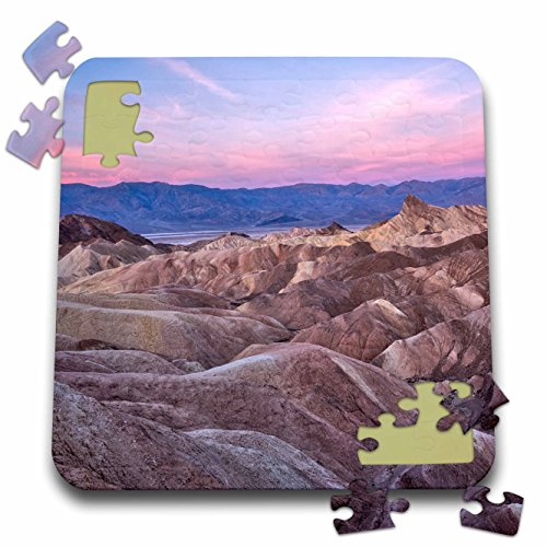 - Danita Delimont - Deserts - USA, California, Death Valley. Sunrise over Zabriskie Point. - 10x10 Inch Puzzle (pzl_278595_2)