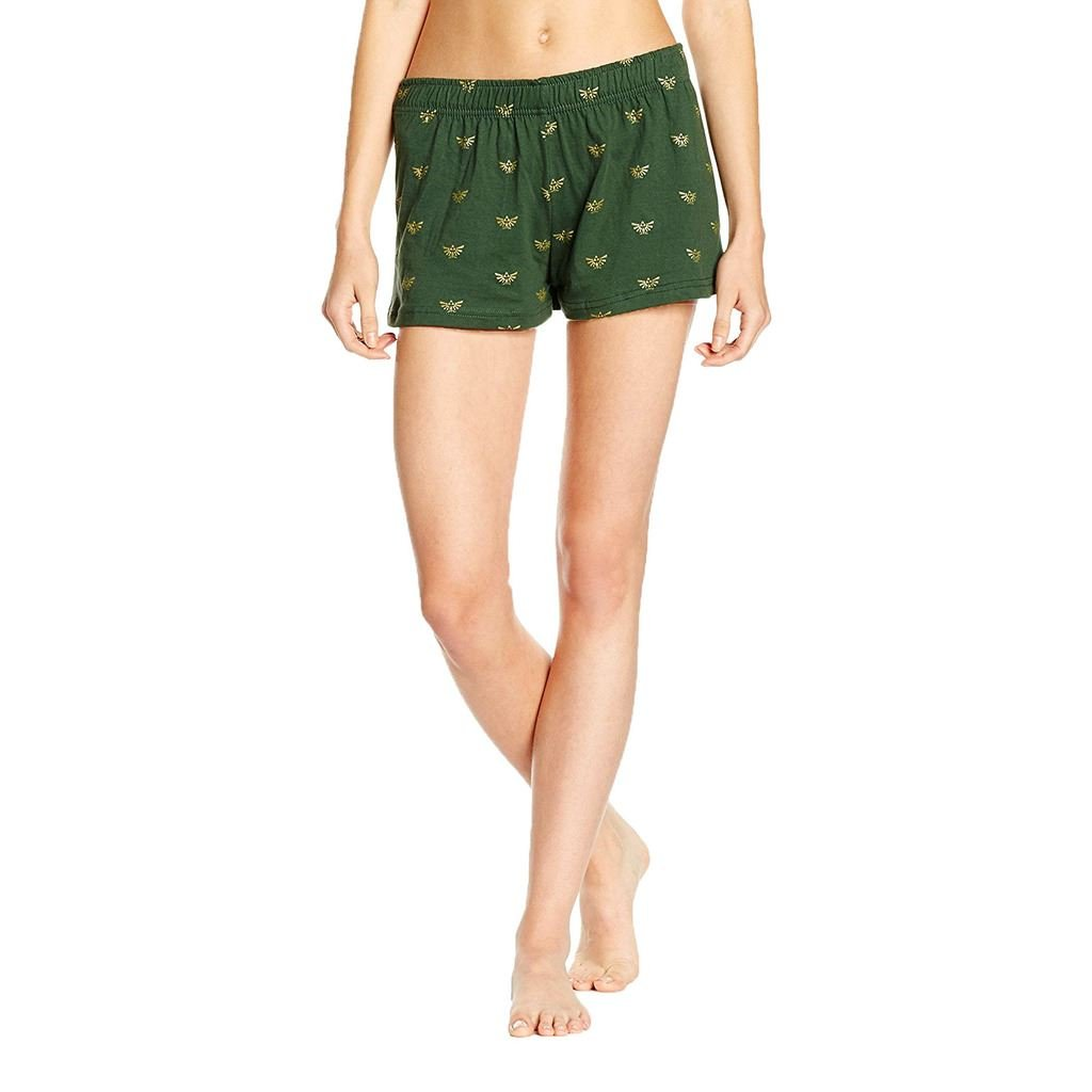 a42814a863654 Nintendo Official Womens Legend of Zelda Hyrule Logo Shortama Pyjama Set -  Ladies Gift Green: Amazon.ca: Clothing & Accessories