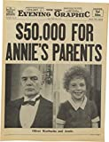 """""""Annie and Daddy Warbucks"""" Prop Newspaper from"""
