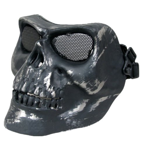 [LightInTheBox Death Skull Full Face Protect Mask Hiking Traveling Accessories] (Human Wolf Costume)