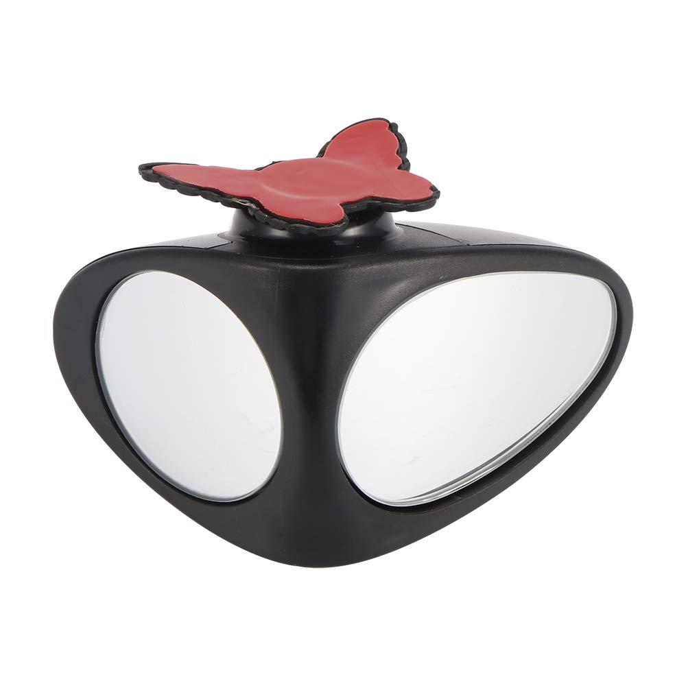 HITECHLIFE Specchio Retrovisore per Auto Specchio Retrovisore per Auto Ruotabile a 360 Gradi Vista Estesa per Garantire la Sicurezza del Parcheggio
