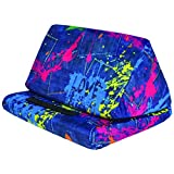 iScream Tablet Pillow (Paint Splatter Denim)