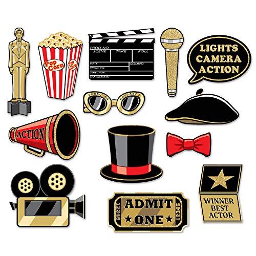 Beistle 59868 Awards Glittered Multicolor