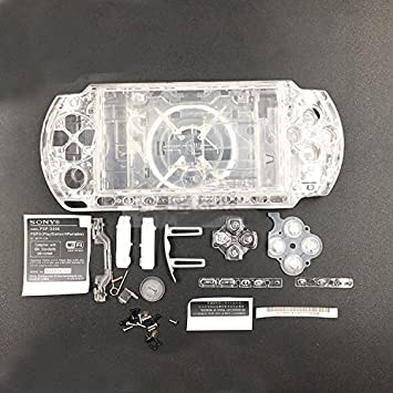 Carcasa de repuesto para Sony PSP3000 PSP 3000 3001 3002 ...