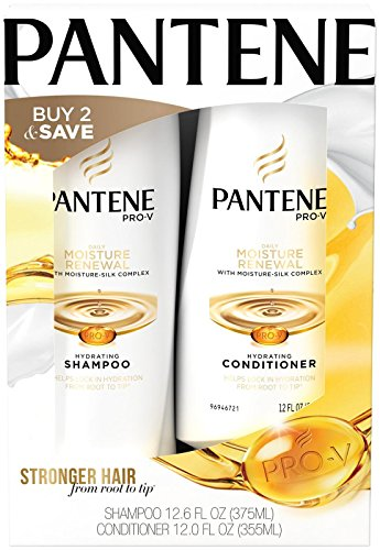 Pantene Pro-V Daily Moisture Renewal Hydrating Shampoo and