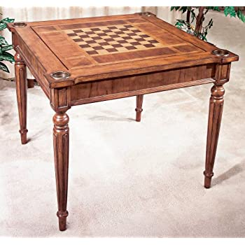 Butler Specialty Company Multi Game Card Table, Antique Cherry