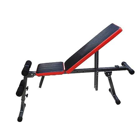 Amazon.com : Xiuzhifuxie Sit Up AB Incline Bench Gym Equipment Banco De Mancuernas Con Sede En El Hogar Y Abdominales Banco De Mancuernas Con Múltiples ...