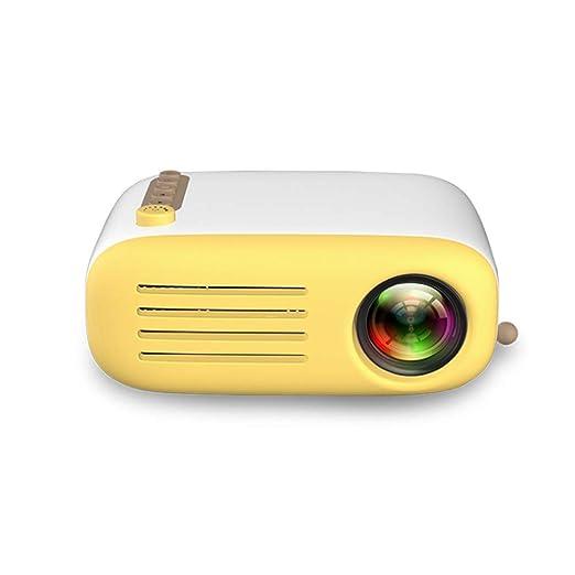ZMM YG200 Home Mini proyector 1080P 1800 Lumen portátil LCD LED ...