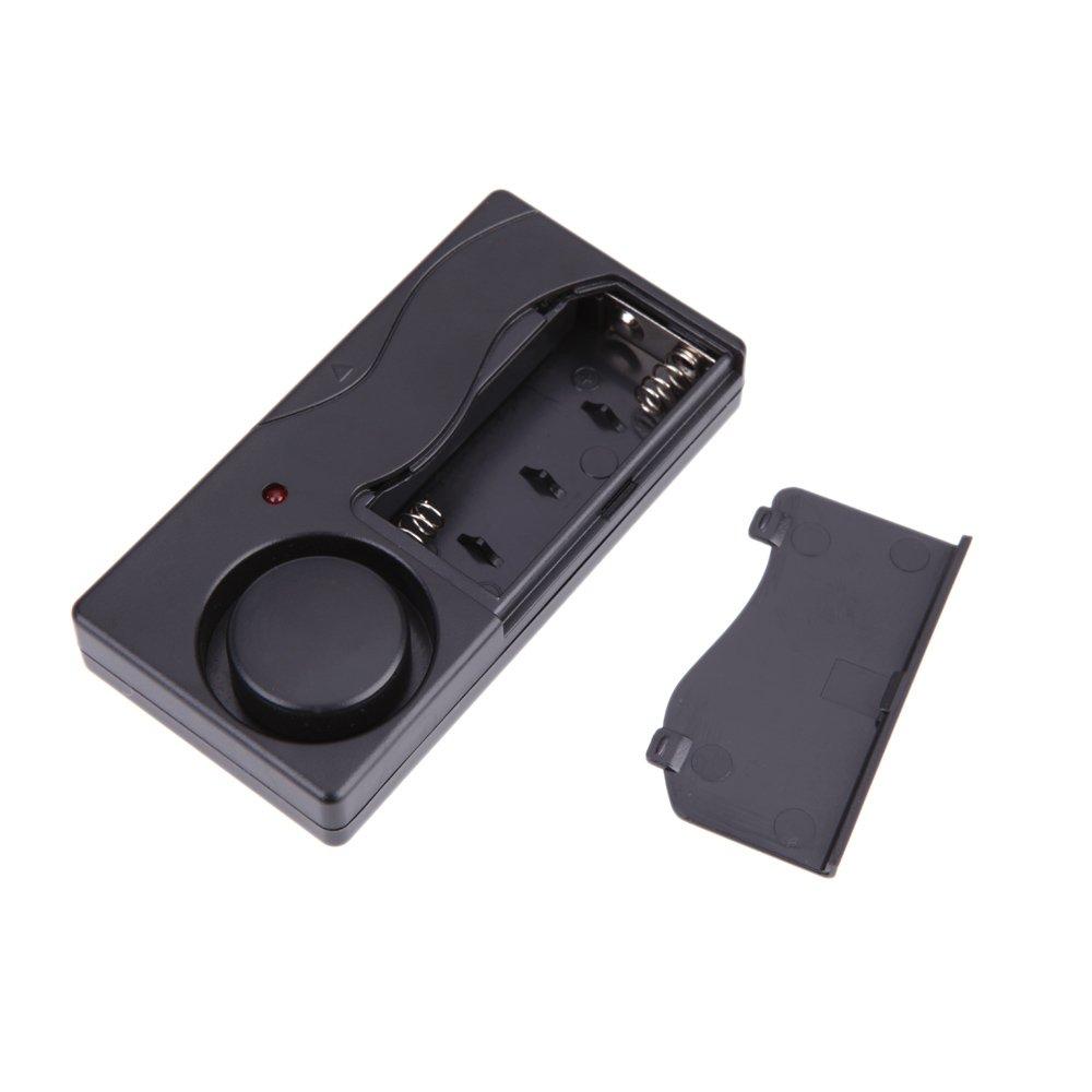 Amazon.com : Wireless Remote Control Vibration Alarm Home Security Door Window Motorcycle Bike Car Alarm Detector Burglar Alarm Alarme 105db : Everything ...