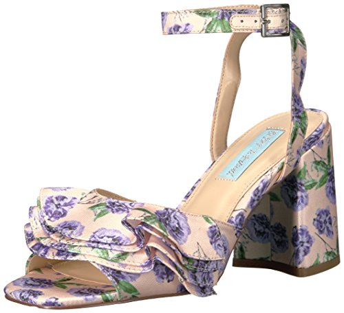 Blue by Betsey Johnson Women's Sb-Flirt Dress Sandal, Lilac, 7.5 M US