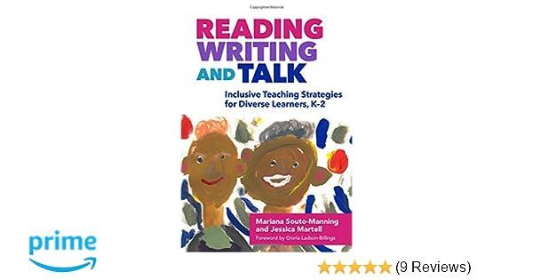 Amazon com: Reading, Writing, and Talk: Inclusive Teaching