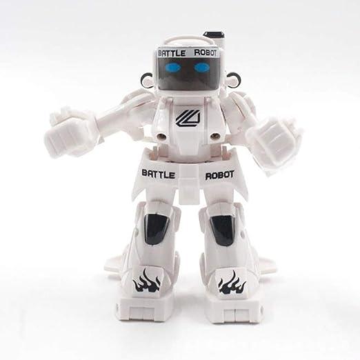 LIJUN 2018 explosión 2.4 G Doble interactiva Lucha competitiva Combate Cuerpo Sentido Control Remoto Inteligente Robot Modelo de Juguete: Amazon.es: Hogar