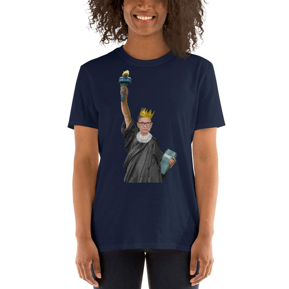 Vintage Statue of Liberty RBG Ruth B Shirt Tee Tees Short-Sleeve Unisex T-Shirt