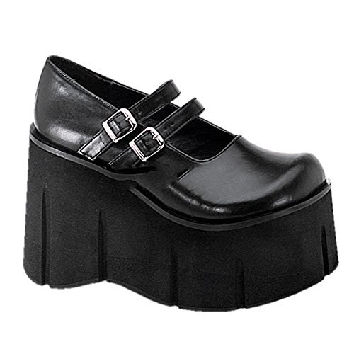 emo 5 US shoes gothic 11 UK 41 08 42 EU US 8 industrial punk punk Damen platform Demonia Kera 3 8 7v8qnY