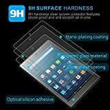 [2 Pack] ZTOZ All New Kindle HD 8 Tablet Tempered