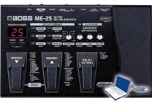 Boss ME25 Guitar Multi-Effects Pedal ()