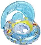 Aqua Leisure Convertible Sunshade Baby Float