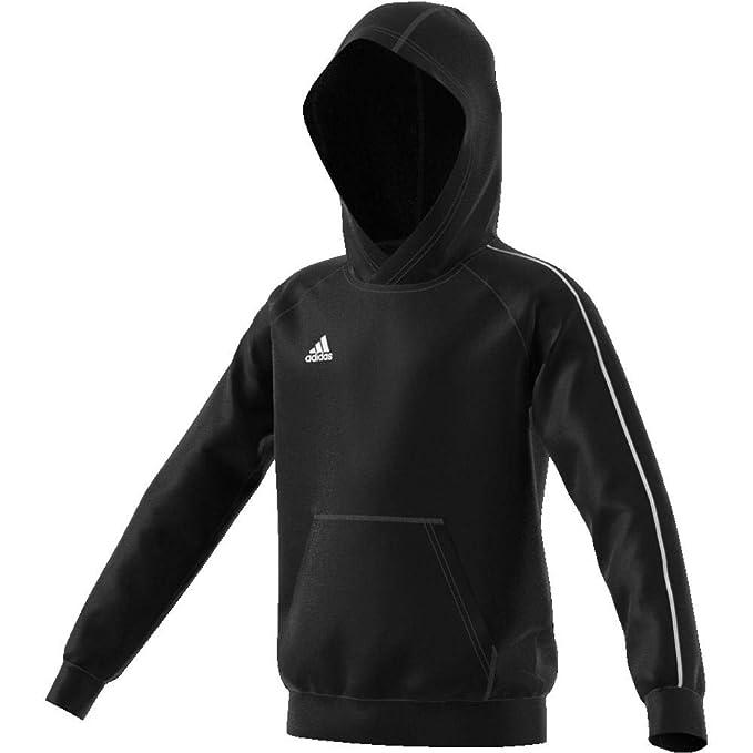 adidas Hoodie Core 18 BlackWhite Kids