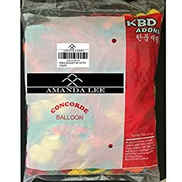Amanda Lee 40-Inch Latex Spiral Balloons (100 Pieces)