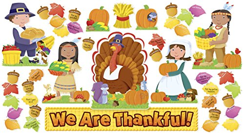 Scholastic 9780545469142 We are Thankful' Design Bulletin Board Set]()